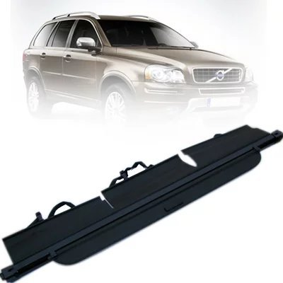 Juntu Retractable Rear Trunk Cargo Cover/Trunk Organizers/Trunk Shielding Shade for Volvo XC90 07-13 Luggage&Baggage Privacy/Security/Safety Protecter by