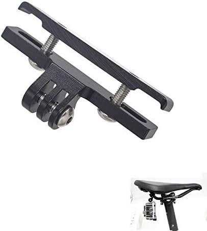 Fauge 2-Teilige Fahrrad-Sattelschienenhalterung f/ür Hero 6//5//4//3 Campark Crosstour und Andere Action-Kameras