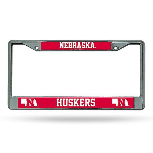 NCAA Nebraska Cornhuskers Chrome Plate Frame