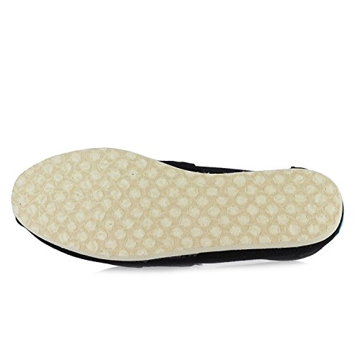 Slip-on Di Tela Da Donna Nero