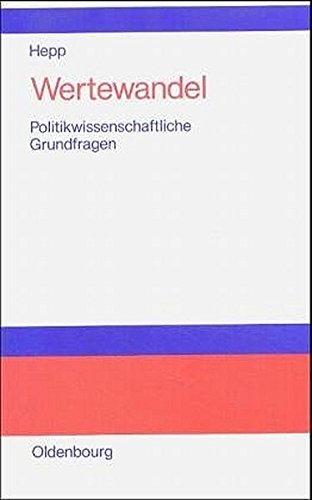 Wertewandel: Politikwissenschaftliche Grundfragen