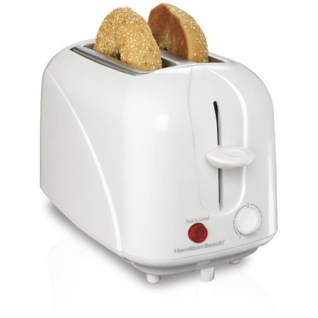 Hamilton Beach Cool-Touch 2-Slice Toaster, Sides of the toaster are cool to the touch even while toasting (Viking Wall Oven Parts compare prices)