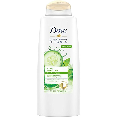 Dove Nourishing Rituals Cool Moisture Shampoo 20.4 oz (Pack of 2)