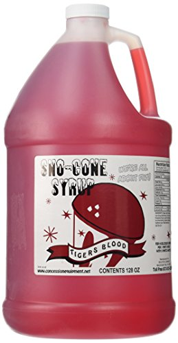 Concession Express Snow Cone Syrup 1 Gallon (Tigers Blood)