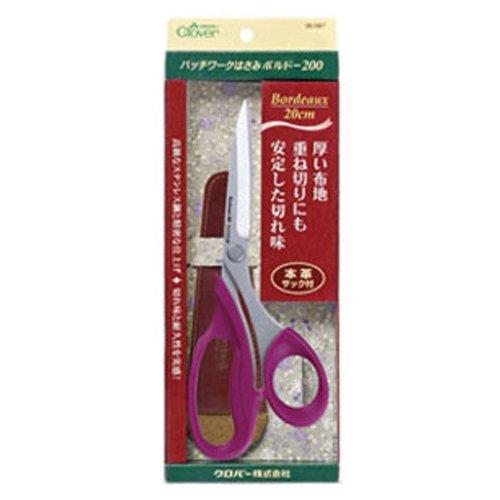 Ultimate Shears - Patchwork scissors Bordeaux (200) 20cm 36-087 (japan import)