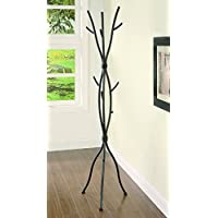 New Home Deal Metal Coat Rack with 8 Hooks (Tree Brach, 71 Tall)