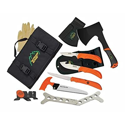 Outdoor Edge The Outfitter Hunting Knife Set