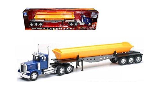Peterbilt Tractor Trailer Diecast Toy - NEWRAY 1:32 PETERBILT MODEL 379 DUMP TRUCK