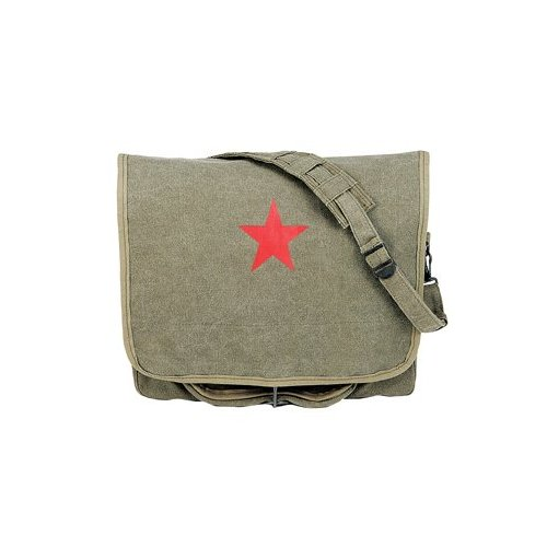 Rothco Canvas Red China Star Shoulder Bag
