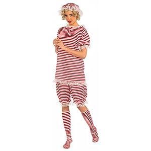 Forum Novelties Women's Roaring 20's Beachside Betty Costume, Red, Large