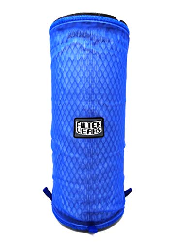 FILTERWEARS Pre-Filter F134L For Polaris RZR XP 1000 Stock Air Filters 1240822 1240957 1241084 7082097, K&N PL-1014; BLUE