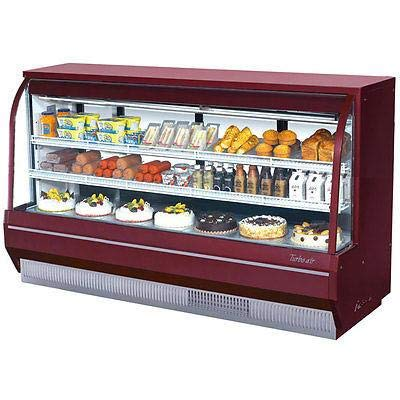 (Turbo Air TCDD-96H-R-N Curved Glass Bakery Case)