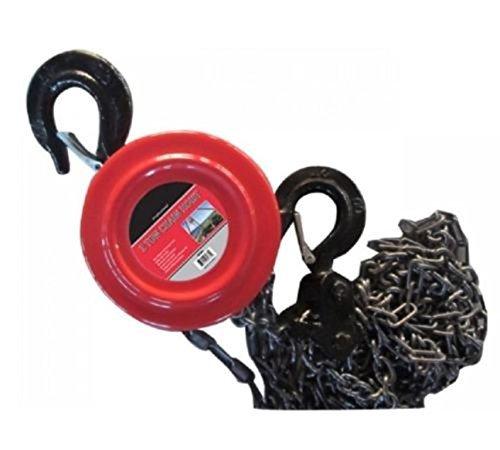 d Tackle 2 Ton 4000lb Winch Capacity Engine Lift Puller Fall ()