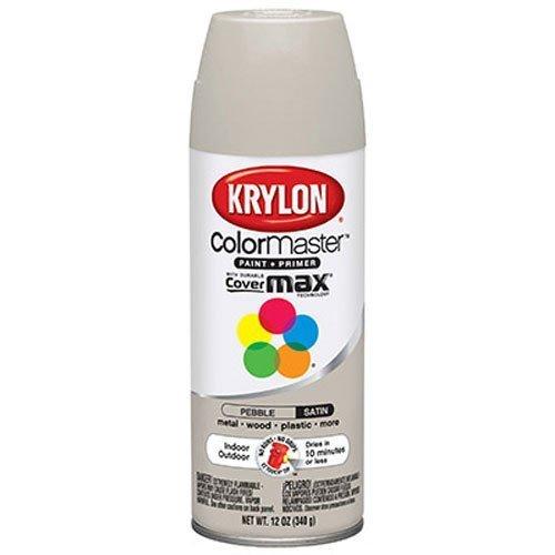 Krylon Satin Touch Spray - Krylon 53520 Pebble 'Satin Touch' Decorator Spray Paint - 12 oz. Aerosol by Krylon