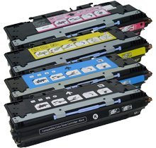 Lovetoner Compatible Toner Cartridge Replacement for HP 3800 ( Black,Cyan,Magenta,Yellow , 4-Pack ) - Hp Q7583a Magenta Toner