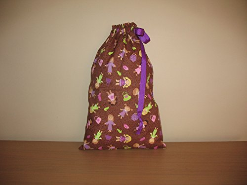 Girl Time Drawstring Bag for Shoes/Travel/Gifts