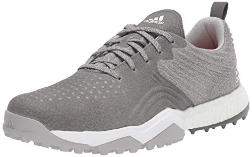 adidas Men's Adipower 4ORGED S Golf Shoe, Two/Grey Four/raw Amber, 8.5 M US