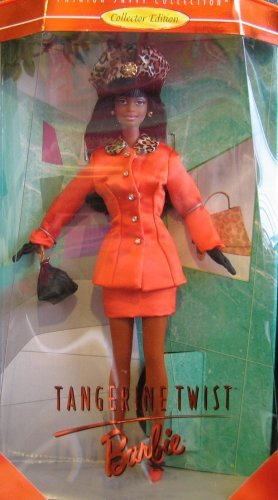 Mattel Tangerine Twist Barbie AA Doll - Collector Edition Fashion Savvy Collection by Kitty Black Perkins (1997) ()