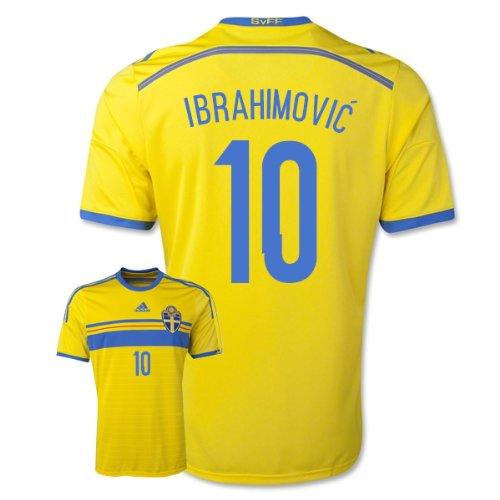 2014-15 Sweden Home Shirt (Ibrahimovic 10) - Kids - Buy Online in UAE.  86e160f3b