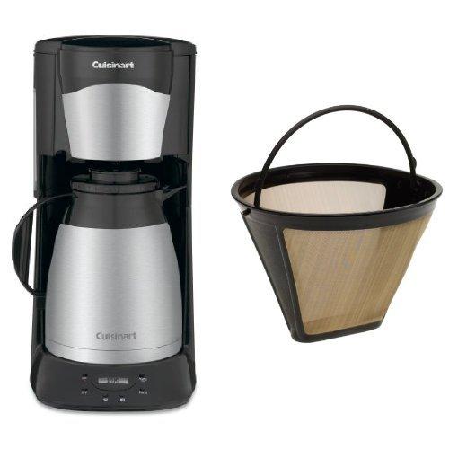 Cuisinart DTC-975BKN 12-Cup Programmable Coffeemaker and Filter Bundle