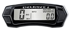 The Trail Tech Endurance II Meter is everything you need to monitor your vehicle's speed, distance, and maintenance intervals. Fully functional motorcycle speedometer and odometer displays: Current speed, full time backlight, average speed, m...