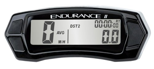 Trail Tech Endurance Speedometer - Trail Tech 202-4010 Endurance II Stealth Black Computer
