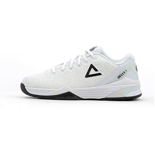 Peak–Zapatos delly2hombre negro 41 blanco