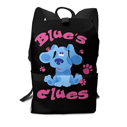 Unisex Large Backpack Travel Backpack Blue's Clues Dog