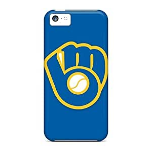 MMZ DIY PHONE CASEHot Fashion OpZ661TRkp Design Case Cover For iphone 6 plus 5.5 inch Protective Case (baseball Milwaukee Brewers 3)