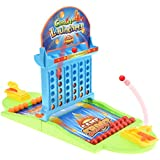 Favtoy Dominion - Launching Connect 4 Four in a Row Game Classic Family Game Line Up 5 Toy Travel Board Game Puzzle Game