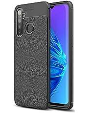 Kilifplus Realme 5i Kılıf Silikon Rugan Protected Serisi - Siyah