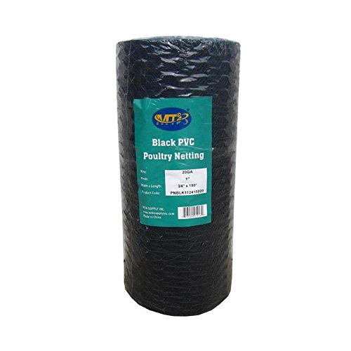- MTB Black PVC Hexagonal Poultry Netting, Chicken Wire 24