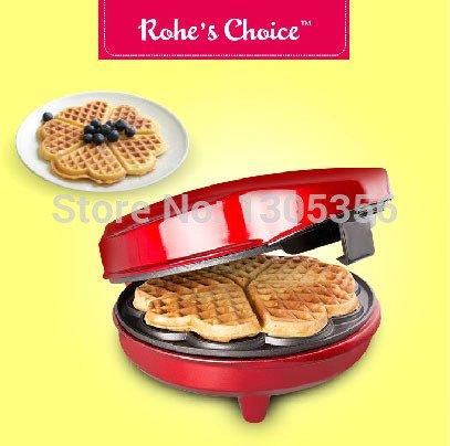 Rohe's Choice Waffle maker machine Heart shaped muffin Pancake crepe maker scone machine electric baking pan