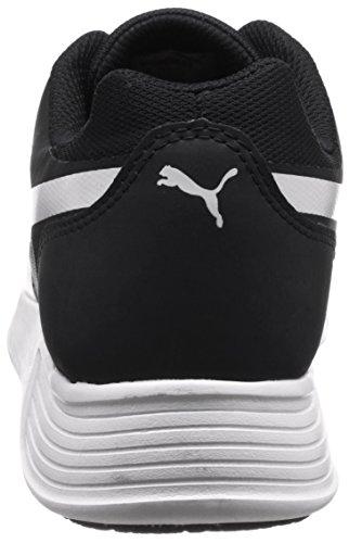 Indoor Evo Trainer Black Unisex Puma ST Scarpe White Adulto Sportive 01 Nero HUOHngqw