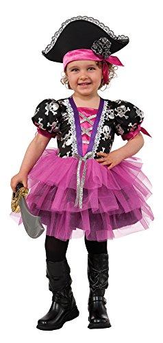Rubie's Costume Pirate Princess Child Costume, Medium - Pink Pirate Costumes
