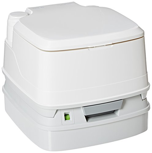 Thetford 92850 Porta Potti 320P Portable Toilet for RV, Marine, Camping, Healthcare Toddler Training, Trucks, Vans