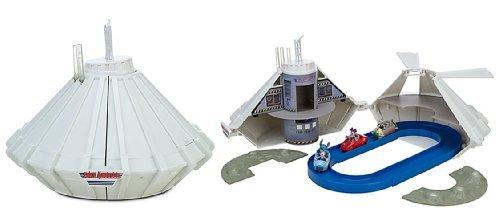 (Disney Store/Disney Parks Walt Disney World Space Mountain Racing Vehicle Racetrack Play Set)