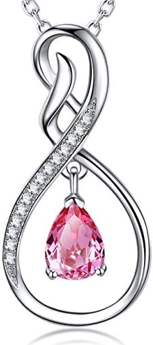 Christmas Tourmaline Infinity Necklace Swarovski product image