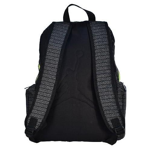 Jordan Nike Air Jumpman 23 Backpack Laptop Book Bag-Black Yellow 80 ... 9b4b999c91d75