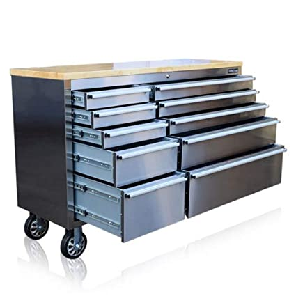 Prime Us Pro Stainless Steel Tool Chest Tool Box Workbench 55 Spiritservingveterans Wood Chair Design Ideas Spiritservingveteransorg