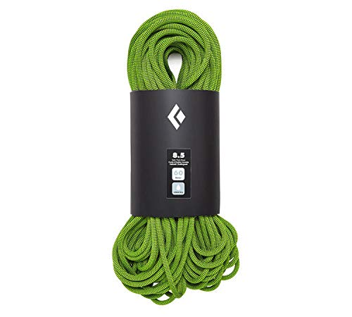 Black Diamond 8.5 Dry Climbing Rope - Green 60m