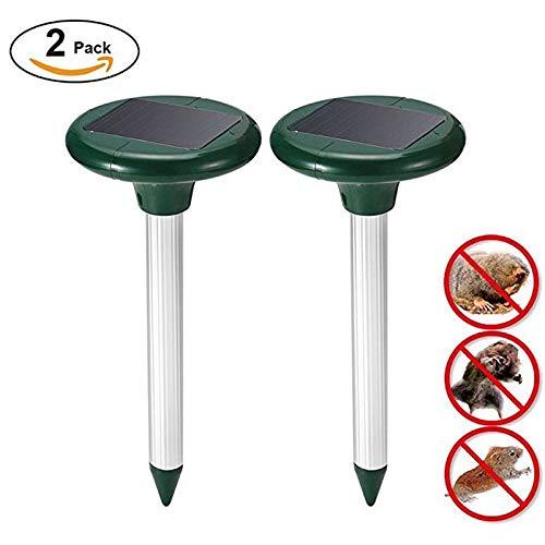 Amazon.com : Alpeft 2pcs Solar Energy Mouse Gopher Repeller pest Control Mouse ultrasonic pest Repeller Control Outdoor Garden Mouse Rat Repeller : Garden & ...
