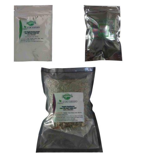 Cocojojo для похудения Диета революции, 100% органический 24 Oz Veggie растительное + 8 унций Зеленый Кофе Бин Выдержка Формула течение 7 дней Диета Результат потеряет как минимум 12-18 Lb