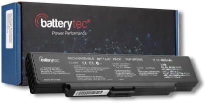 Batterytec® Batería para SONY VAIO VGN-AR, VAIO VGN-NR, VAIO