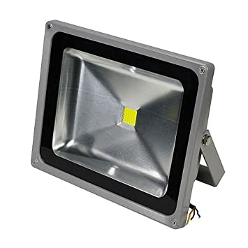 Outdoor Led Flood Lights Fixtures: Ledwholesalers 56 Watt LED Waterpoof Outdoor Security Floodlight 85-264  Volt Ac Warm White,,Lighting