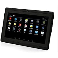 Willful Q8 7 Quad Core Google Android 4.4 KitKat Tablet PC, Dual Camera, HD 1024x600 Multi-touch Screen, 8GB Nand Flash, Google Play & Zoodles Pre-load, 3D Game Supported Black
