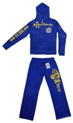 新しい。ブルーSouthern Jaguars大学Warm Up WomensジョギングTrack Suits 3 x l B07B2KWPNZ
