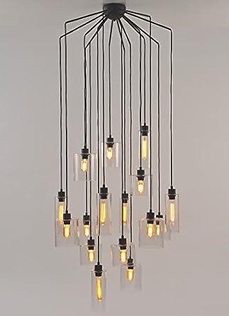 Lustre 16 Lampes Design Ilo Ilo Market Set Amazon Fr Luminaires Et