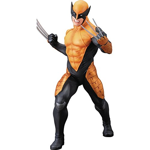 Marvel Now Deadpool Costume - Kotobukiya Marvel Now! Wolverine ArtFX+ Statue