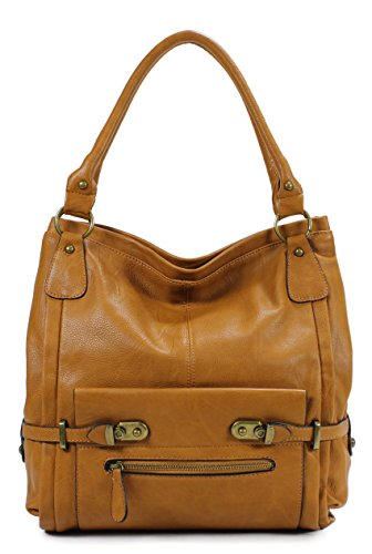 (Scarleton Shoulder Bag H114825 - Camel)